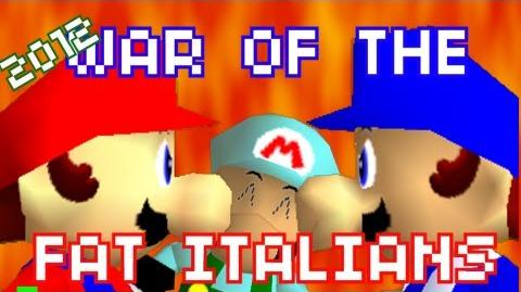 Super Mario 64 Bloopers: War of the Fat Italians 2012