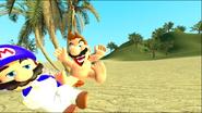 Mario Gets Stuck On An Island 204