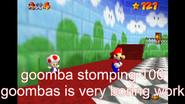 100 goomba stomping