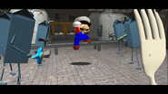 Mario Goes to the Fridge to Get a Glass Of Milk 141