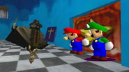 Mario And The T-Pose Virus 066