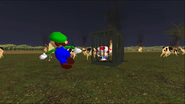 Mario Goes to the Fridge to Get a Glass Of Milk 285