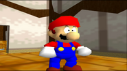 Mario Goes to the Fridge to Get a Glass Of Milk 011
