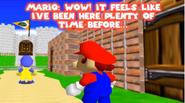 Mario in Castle Royale