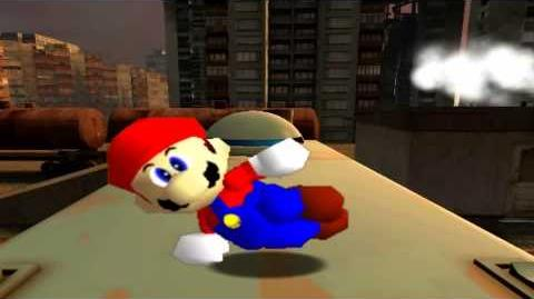 R64: Mario and the retarded spaghetti factory