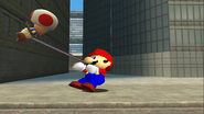 Mario Goes to the Fridge to Get a Glass Of Milk 094