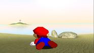 Mario Gets Stuck On An Island 033