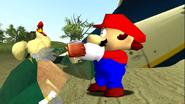 Mario Gets Stuck On An Island 051
