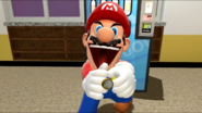 Mario's Secret Weapon