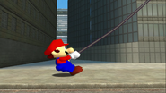 Mario Goes to the Fridge to Get a Glass Of Milk 095