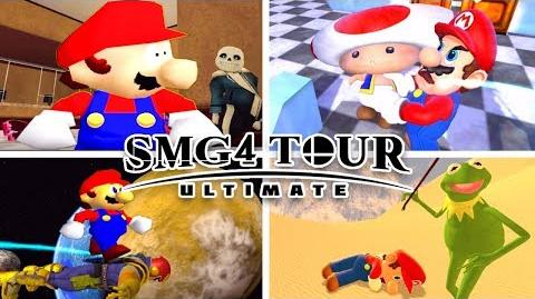 ALL 9 SMG4 TOUR ULTIMATE VIDEOS