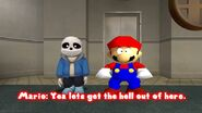 SMG4 Sans's First Day In Smash Bros screencaps 44