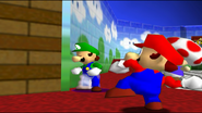 Mario And The T-Pose Virus 017