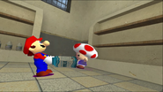 Mario Goes to the Fridge to Get a Glass Of Milk 043