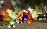 Mario Burning Down The School 20200511211017