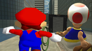 Mario Goes to the Fridge to Get a Glass Of Milk 086