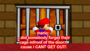 Mario Can't Get Out