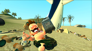 Mario Gets Stuck On An Island 154