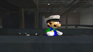 Mario Goes to the Fridge to Get a Glass Of Milk 158