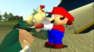Mario Gets Stuck On An Island 052