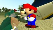 Mario Gets Stuck On An Island 049