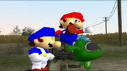 SMG4 Mario and the Waluigi Apocalypse 007