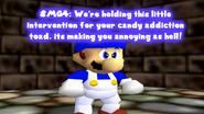 Super Mario 64 Meet the Toad 0-15 screenshot