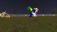 Mario Goes to the Fridge to Get a Glass Of Milk 287