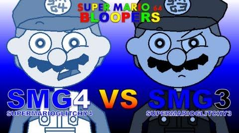 Super Mario 64 Bloopers: SMG4 VS SMG3