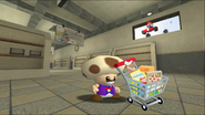 Mario Goes to the Fridge to Get a Glass Of Milk 015