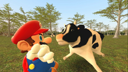 Mario Goes to the Fridge to Get a Glass Of Milk 226