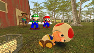Mario Goes to the Fridge to Get a Glass Of Milk 212