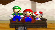 Mario Goes to the Fridge to Get a Glass Of Milk 311