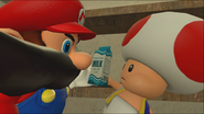 Mario Goes to the Fridge to Get a Glass Of Milk 036