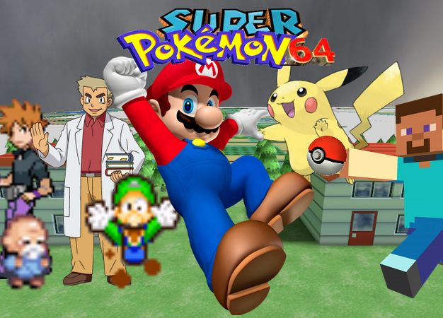 Super Pokeman 64 (series)