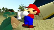 Mario Gets Stuck On An Island 045
