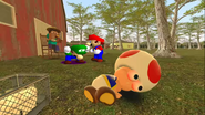 Mario Goes to the Fridge to Get a Glass Of Milk 213