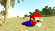 Mario Gets Stuck On An Island 020