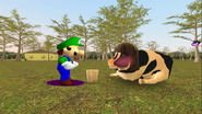 Mario Goes to the Fridge to Get a Glass Of Milk 237