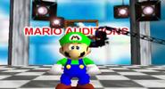 Super Sad Luigi Face