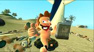 Mario Gets Stuck On An Island 153
