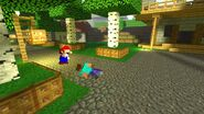 SMG4 If Mario Was in... Minecraft screencaps 13