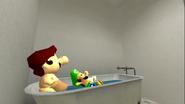 Mario The Scam Artist (SMG4 Merch Store 19)