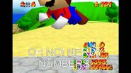 Giant Mario and the Nerdy Numbers