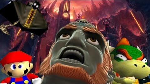 SM64 Bloopers: Can Ganondorf come out to play?