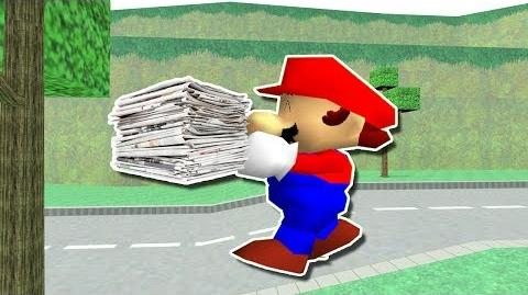 MARIO THE MAIL MAN!