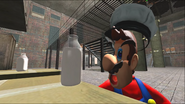 Mario Goes to the Fridge to Get a Glass Of Milk 132