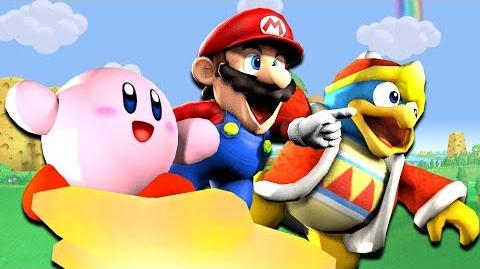 SMG4: If Mario Was In... Kirby Star Allies