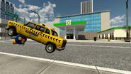 Kaufman Cabs crashing at Kamek