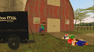 Mario Goes to the Fridge to Get a Glass Of Milk 198